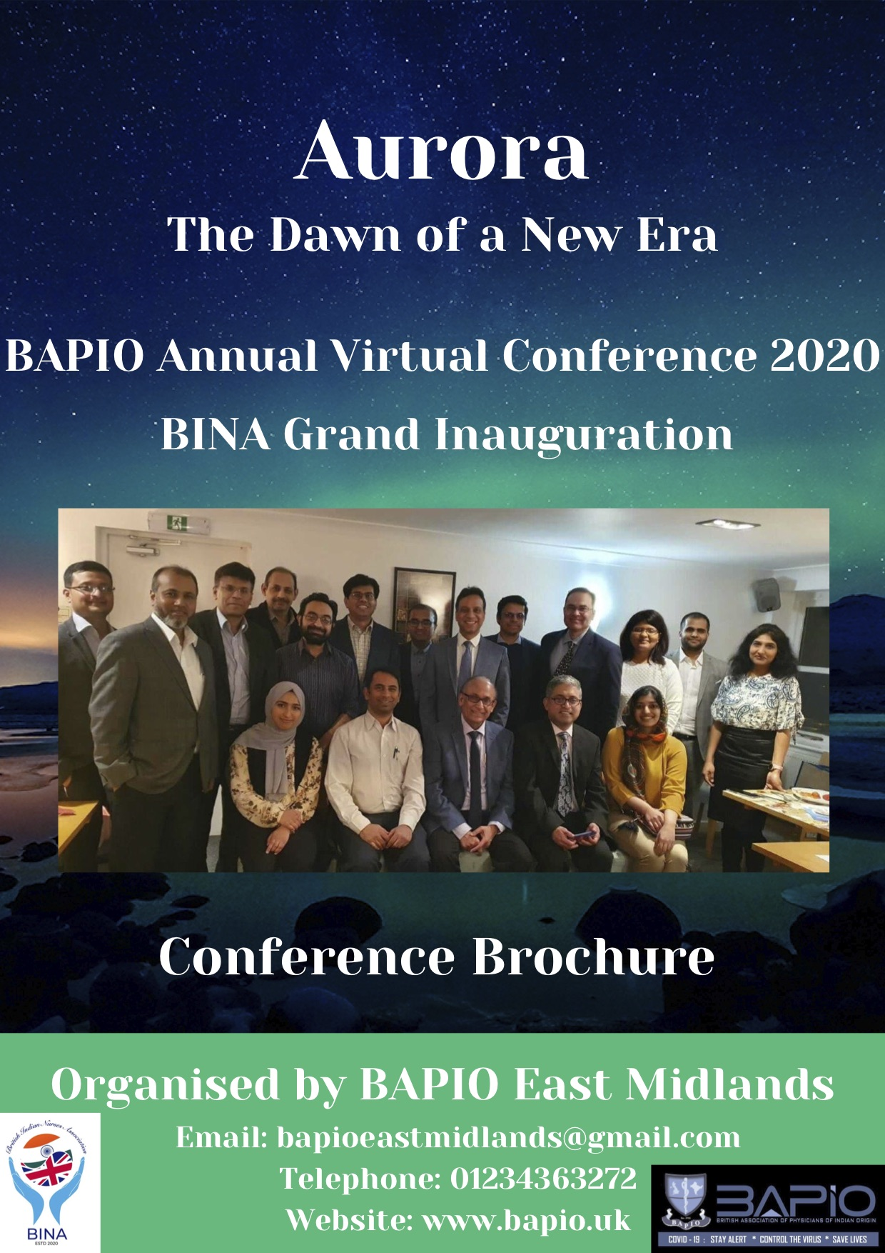BINA Inauguration-Friday, 20 November 2020