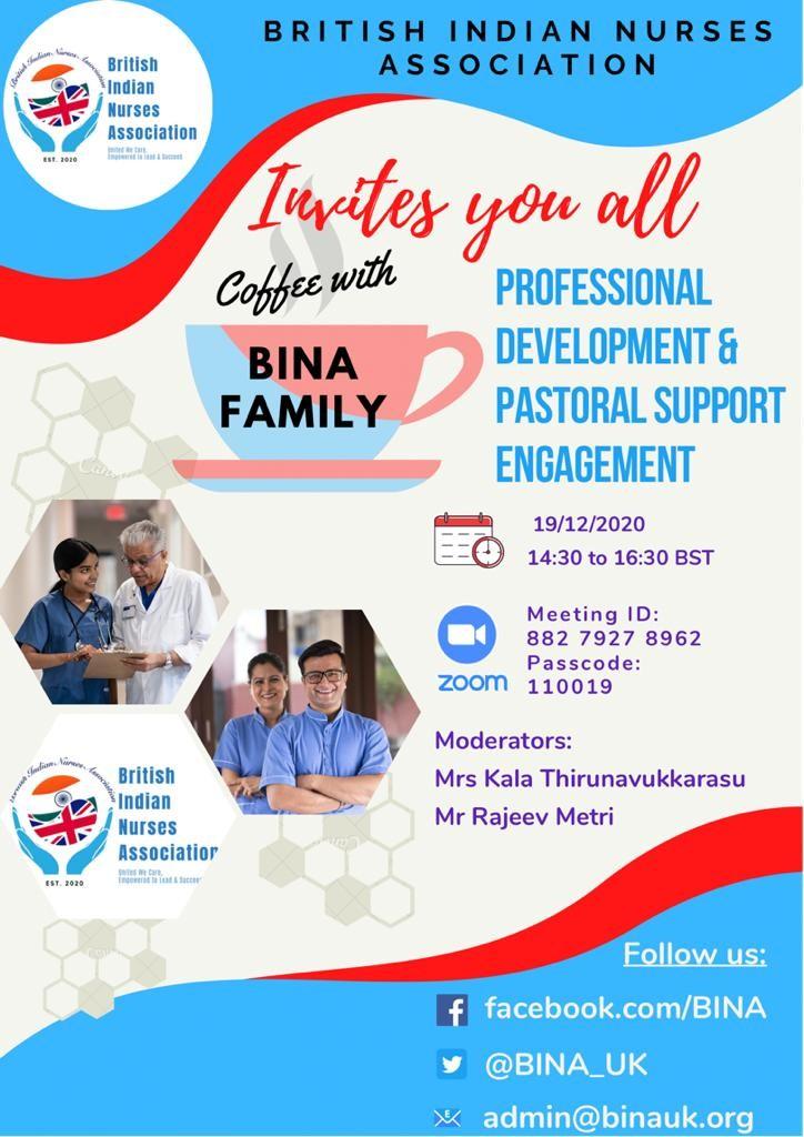 BINA Members Engagement-Saturday 19th December 2020