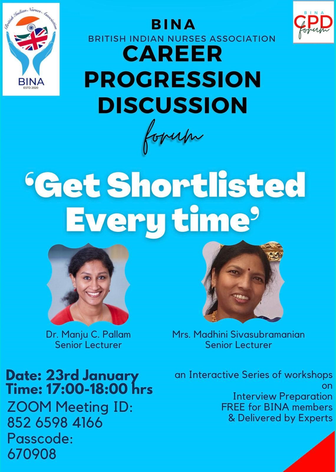 Professional Development ( Get Shortlisted)-23rd january 2021